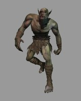orc sr piece 3d 3ds