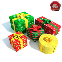 presents modelled 3d max
