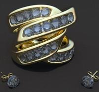 gold ring obj