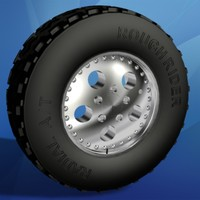 3ds rough rider wheel tire
