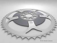 bike pinion 3d c4d