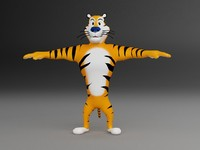 tiger character (3ds)