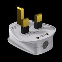 uk plug 3d model