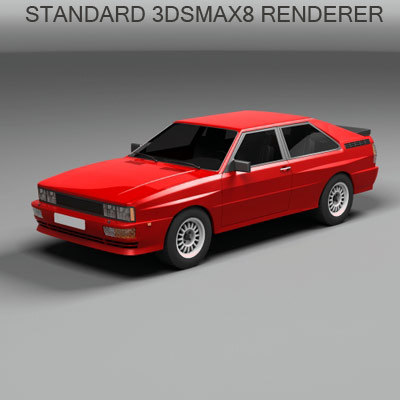 3d 4x4 coupe model - 4x4  coupe... by QLEE