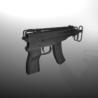 Skorpion vz 61  submachine gun