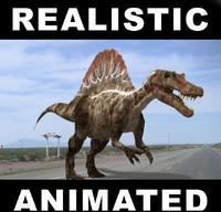 3d model jurassic spinosaur
