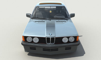 3d model car sedan - BMW E21_max.zip... by javor