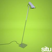 3dsmax freestanding floorlamp base