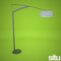 freestanding floor lamp floorlamp 3d model