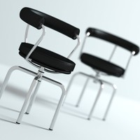 LC7 Corbusier Swivel Chair