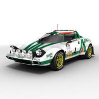 lancia stratos rallycar max