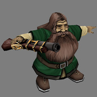 of fantasy warrior - dwarf