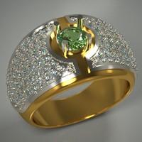 3d model stone jewellery