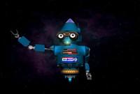 robot mascot 3d model