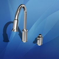 3d model of single faucet pullout