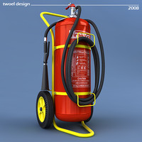 Trolley extinguisher