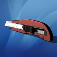 utility knife 3d model