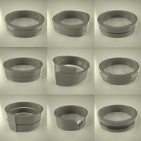 rings 3d model