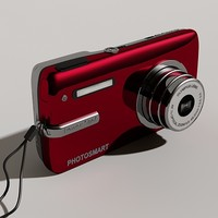 3d digital camera model