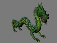 dragon eastern 3d model
