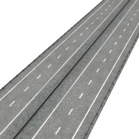 3ds max highway stright