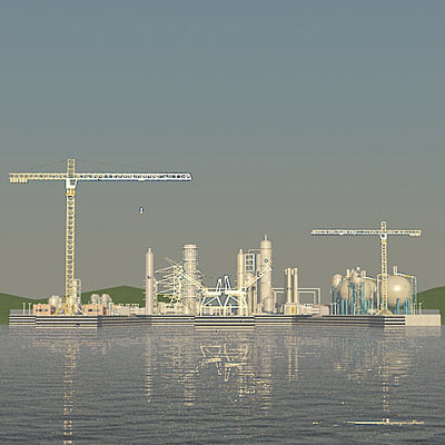 Industrial Harbour ( no ships T)