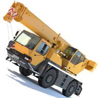 liebherr mobile crane ltm 3d max