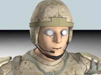 3d model future soldier