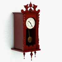 max grandfather wall clock