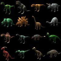 3d model dino dinosaur dinosaurus