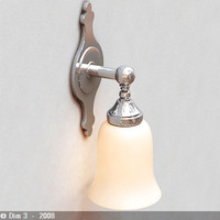 3d lamp sconce