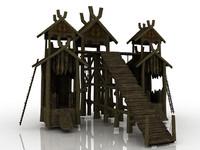 3d model castle games