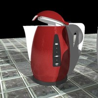 3d model of tea pots teapots