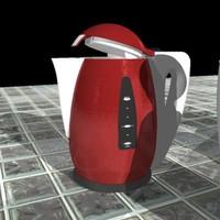 3d model of tea pots teapots