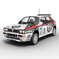 Lancia Delta rallycar