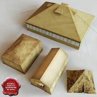 military tents v2 3d 3ds