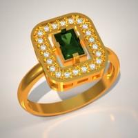 free stone jewellery stl 3d model