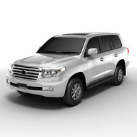 toyota landcruiser 3d model