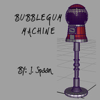 Classic Bubblegum Machine