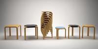Alvar Aalto chair collection