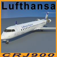 CRJ900 LUFTHANSA