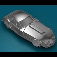 3d metal toy car