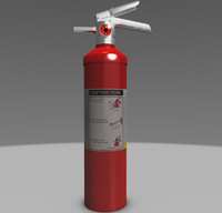 Medium Sized Fire Extinguisher