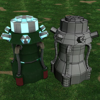 plasma genorator gen 3d model