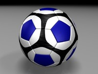 photo realistic soccer ball max