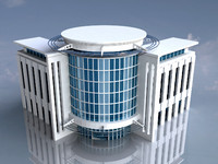 3d building skyscraper model