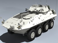 lav-25 piranha 3d model