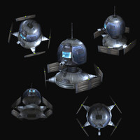 3d sf drone