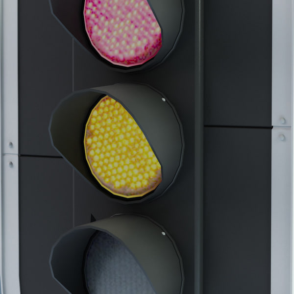 3d model traffic lights v2 - Traffic lights V2... by 3d_molier