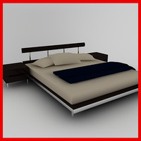3ds bed bedroom